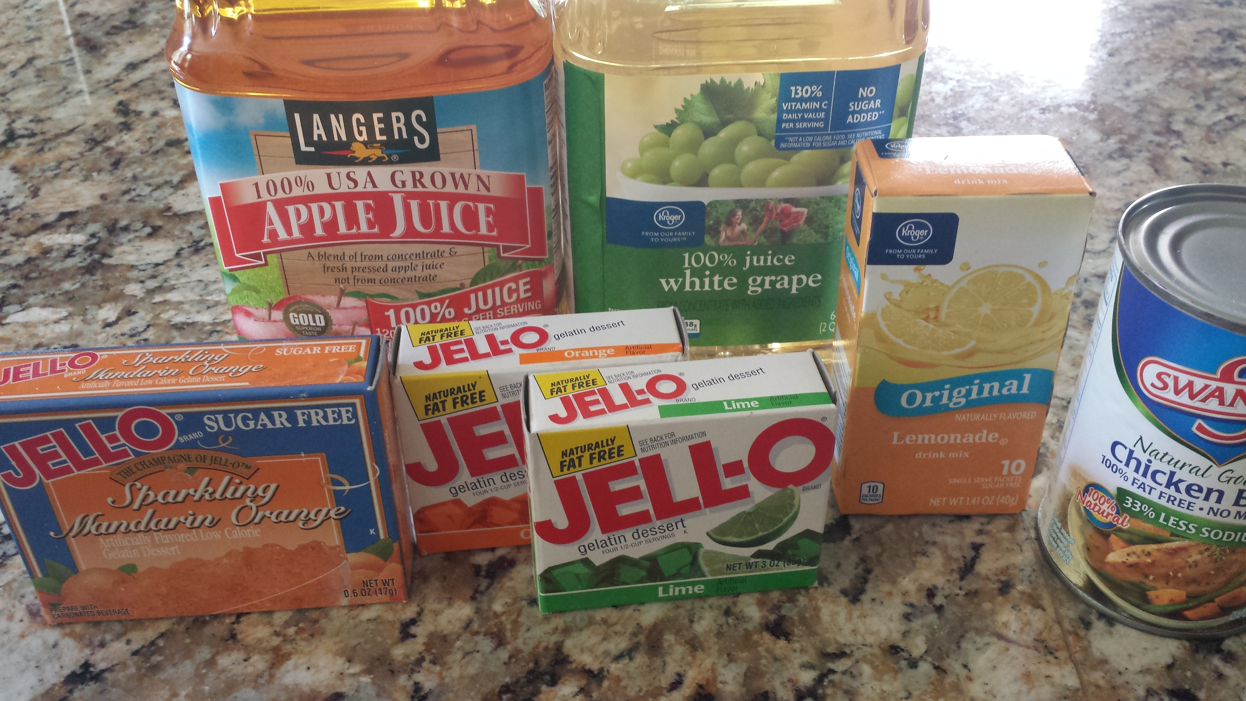 foods to eat on clear liquid diet